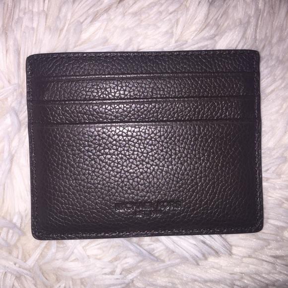 bdaf82b898 Michael Kors Bags | Mens Leather Card Case | Poshmark